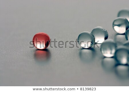 different marble glass ball Stock photo © mady70
