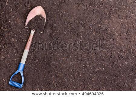 シャベル カバー 土壌 コピースペース ストックフォト © ozgur