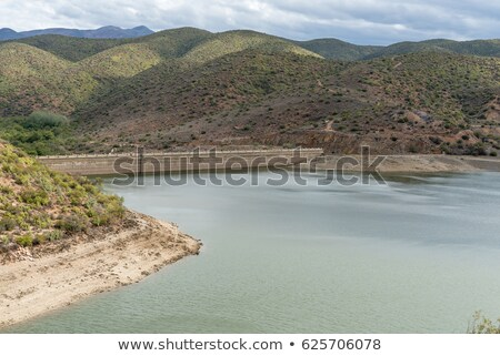 dam wall at calitzdorp stock photo © markdescande