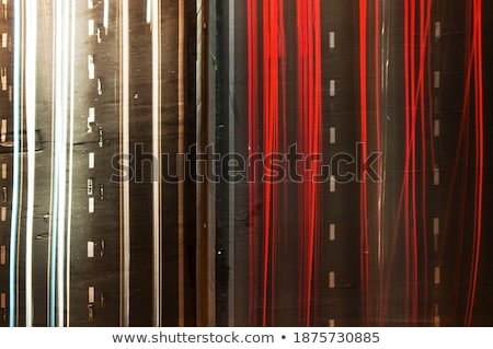 Trafik ışığı boya uzun pozlama renkli soyut Stok fotoğraf © stevanovicigor