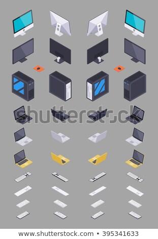 デスクトップ · シーン · ノートパソコン · タブレット · 電話 - ストックフォト © neirfy