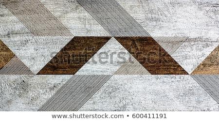 Handmade glazed ceramic tile Stock photo © Taigi
