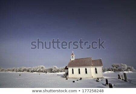 Saint Augusta Anglican Church in winter Stock photo © pictureguy
