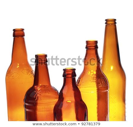 Bier heldere trillend alcohol licht tabel Stockfoto © JanPietruszka