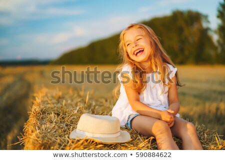 Meisjes lachend zonneschijn vrouw liefde paar Stockfoto © IS2