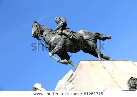 Monument of Bartolome Mitre in Buenos Aires Stock photo © Spectral
