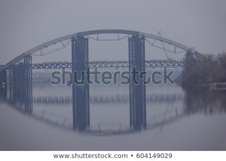 утра тумана Саскачеван реке природы пейзаж Сток-фото © pictureguy
