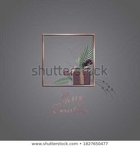 elegancki · festiwalu · kartkę · z · życzeniami · projektu · złoty · streszczenie - zdjęcia stock © sarts