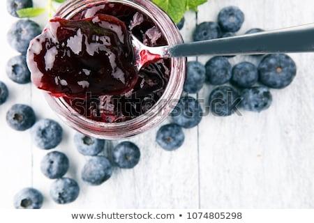 blueberry jam stock photo © m-studio