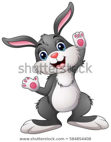 Easter Bunny Rabbit Cartoon Character Stock photo © Krisdog