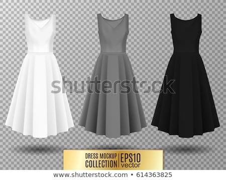 Gray female dress Stock photo © gsermek