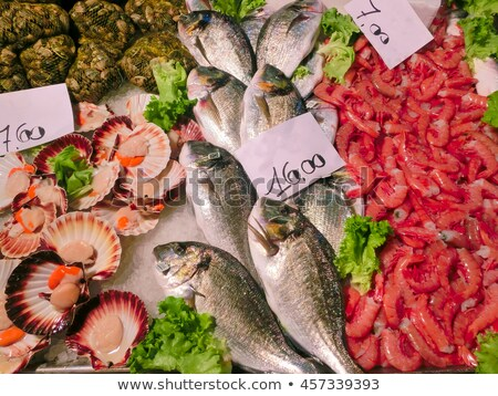 poissons · magasin · alimentaire - photo stock © neirfy