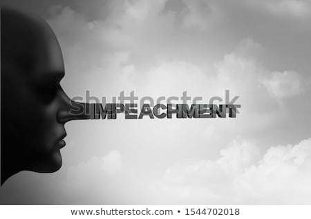 Impeachment Stock photo © Lightsource