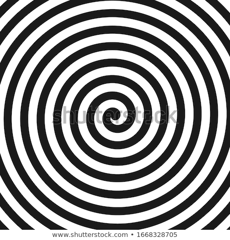 vector radial spiral black and white background Stock photo © freesoulproduction
