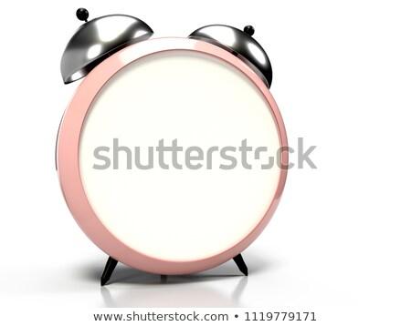 3D · 目覚まし時計 · 空白 · ダイヤル · 文字 · グラフィックス - ストックフォト © Nobilior