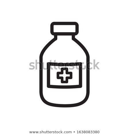 Medication Medicament in Containers, Antibiotics Stock photo © robuart
