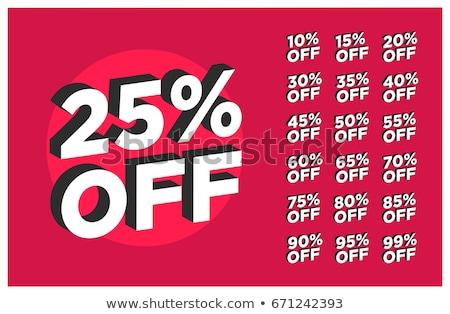 Süper fiyat büyük satış 20 Stok fotoğraf © robuart