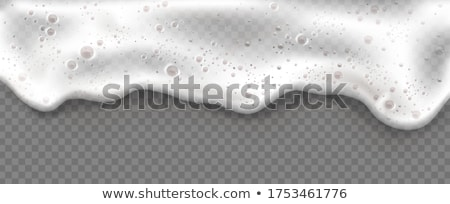 Beer foam isolate on white background Stock photo © rogistok