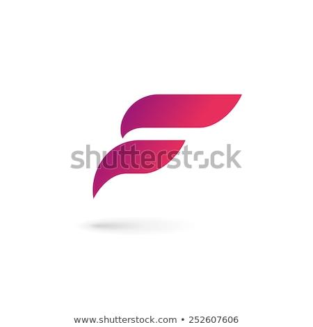letra · f · logotipo · carta · projeto · vetor · negócio - foto stock © blaskorizov