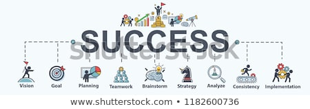 business success concept banner header stock photo © rastudio