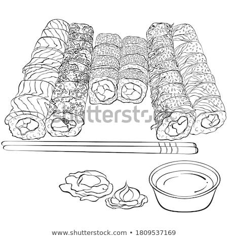 greggio · maccheroni · formaggio · illustrazione · alimentare · sfondo - foto d'archivio © netkov1