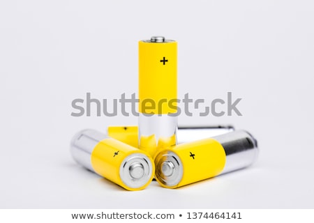 Small batteries view Stock photo © pedrosala
