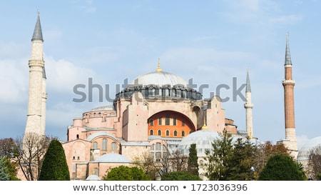 İstanbul · Türkiye · gün · batımı · Bina · kilise - stok fotoğraf © boggy