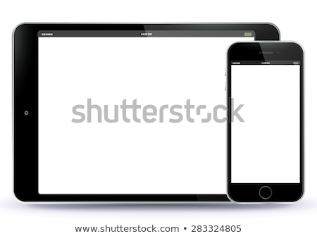 Apple iPhone 4, white and black, isolated Stock photo © lichtmeister