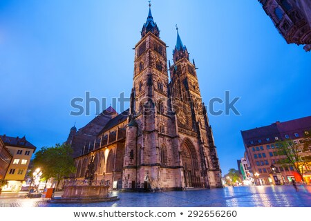 St. Lorenz, Nuremberg, Germany Stock photo © borisb17