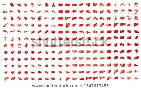 Grande colección vector banderas China diseno Foto stock © butenkow