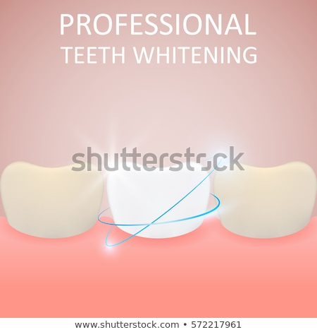 Profissional saudável amarelo dente médico Foto stock © natali_brill