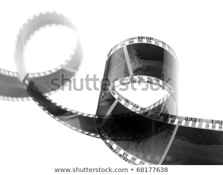 Witte filmstrip tekst ruimte achtergrond frame Stockfoto © SArts