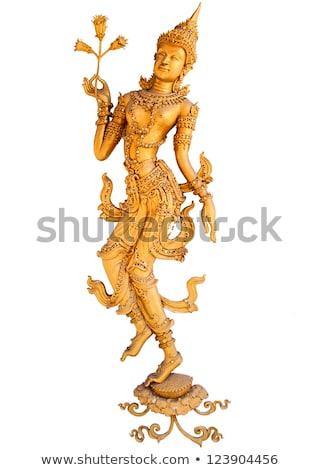 Estátua shiva dançar isolado bronze indiano Foto stock © dmitry_rukhlenko