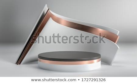 Simples pódio suporte produto ilustração 3d Foto stock © montego