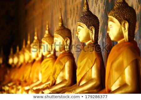 Altın Buda tapınak Stok fotoğraf © beemanja