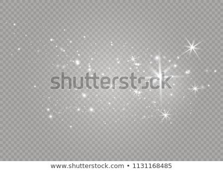 golden and white stars Stock photo © marinini