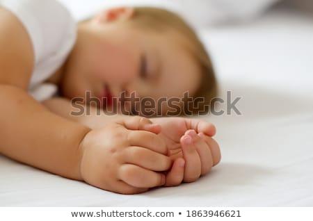 close shot of blonde sleeping Stock photo © photography33