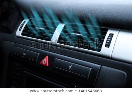 Stok fotoğraf: Car Climate Control