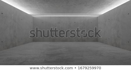 grunge · concretas · habitación · interior · pared · fondo - foto stock © stevanovicigor
