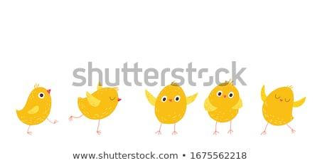 Stok fotoğraf: Paskalya · sevimli · civciv · yumurta · oyuncak · renkli · yumurta