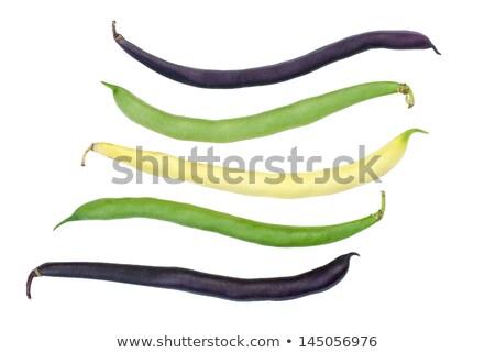 黒 ワックス 豆 孤立した 白 食品 ストックフォト © digitalr