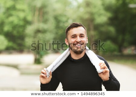 portrait of a young man in woods Stock photo © photography33