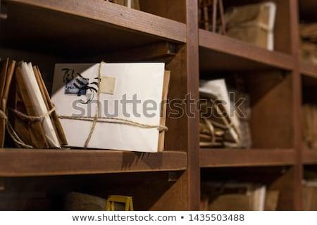 Velho e-mail conjunto seis abrir comunicação Foto stock © fixer00