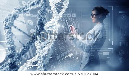 DNA High Tech Stock photo © idesign