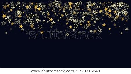 Absztrakt pontozott csillog buli terv művészet Stock fotó © rioillustrator
