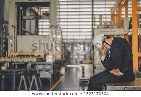 depressed architect stock photo © photography33