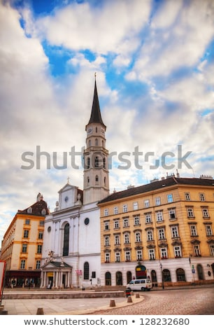 St. Michael's Church in Vienna at sunrise Stock photo © AndreyKr