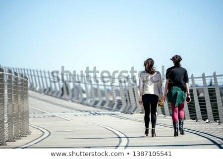Ayaklar kadın vücut sağlık cilt sağlıklı Stok fotoğraf © wavebreak_media