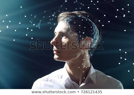 Foto d'archivio: Confusi · umani · intelligenza · testa · cervello