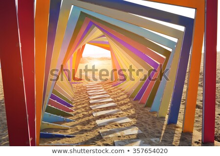 perspective color of the building Stock photo © butenkow